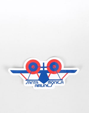 Santa Monica Airlines Classic SMA Plane Sticker