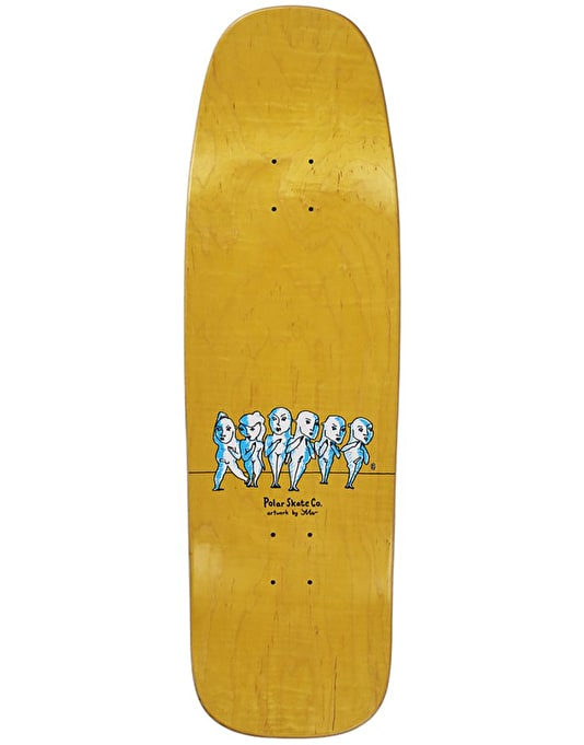 Polar Where Do We Go From Here Skateboard Deck - 1990 Shape 9.5""