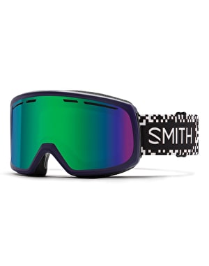 Smith Range 2019 Snowboard Goggles - Ink Game Over/Green Sol-X Mirror