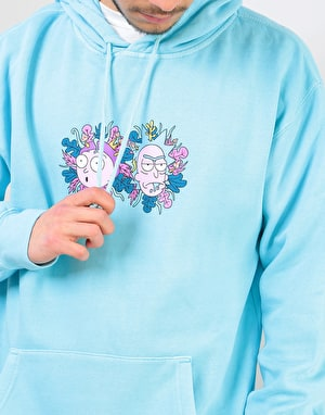 Primitive x Rick & Morty Dirty P Pullover Hoodie - Pacific Blue