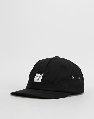 RIPNDIP Lord Nermal 5 Panel Pocket Cap - Black