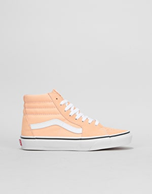 Vans Sk8-Hi Womens Trainers - Bleached Apricot/True White