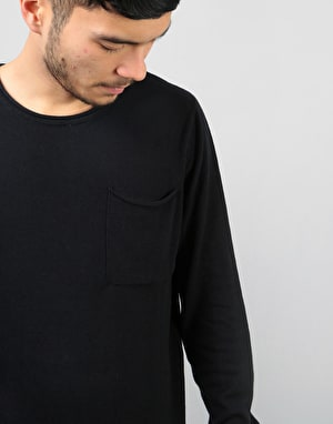 Bellfield Niles Fine Knit Jumper - Black