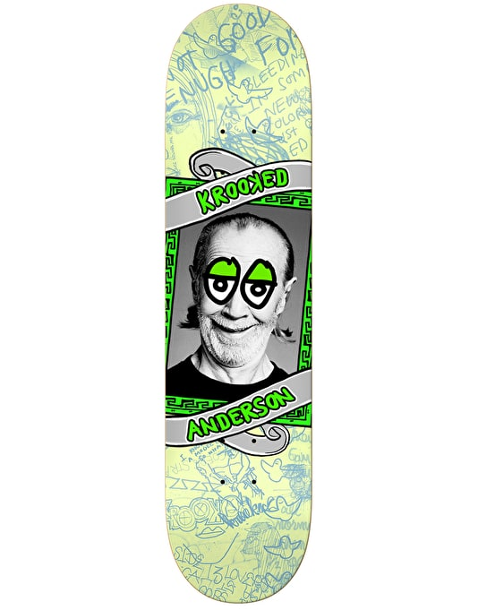 Krooked Anderson Personality Krisis Skateboard Deck - 8.25""