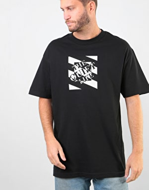 The Quiet Life Optical T-Shirt - Black