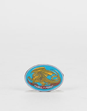 Powell Peralta Oval Dragon Lapel Pin - Multi