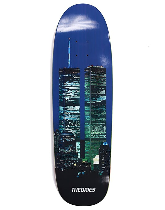 Theories WTC Special Delivery Shape Skateboard Deck - 9""