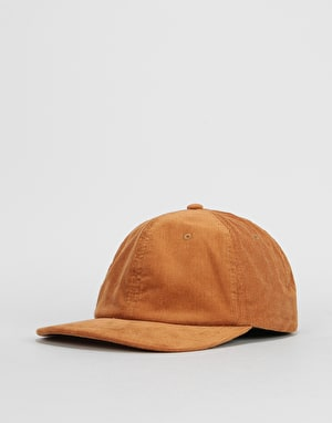 Route One Vintage Cord Dad Cap - Camel