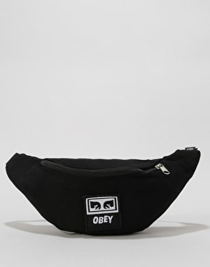 Obey Wasted Cross Body Bag - Black