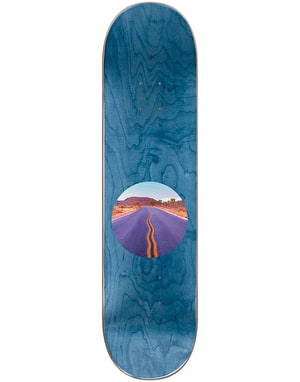 Almost Yuri Diagonal Skateboard Deck - 8.25