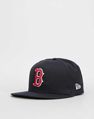 New Era 9 Fifty MLB Boston Red Sox Snapback Cap - Navy/Red