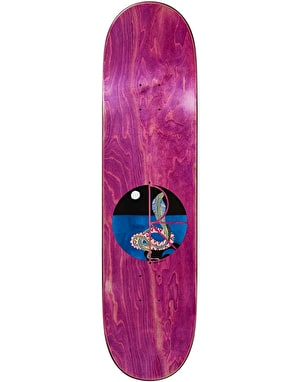 Polar Herrington Midnight Snake Skateboard Deck - 8.75