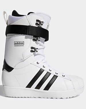 Adidas Superstar ADV 2019 Snowboard Boots - White/Core Black/White