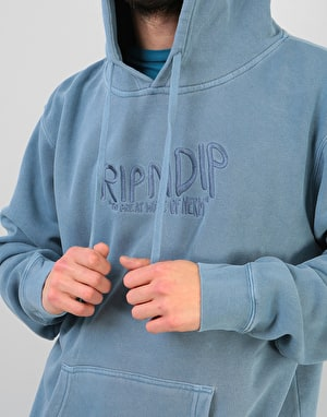 RIPNDIP Great Wave of Nerm Pullover Hoodie - Baby Blue