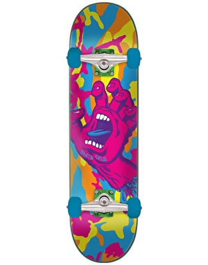 Santa Cruz Screaming Hand Camo Complete Skateboard - 7.75