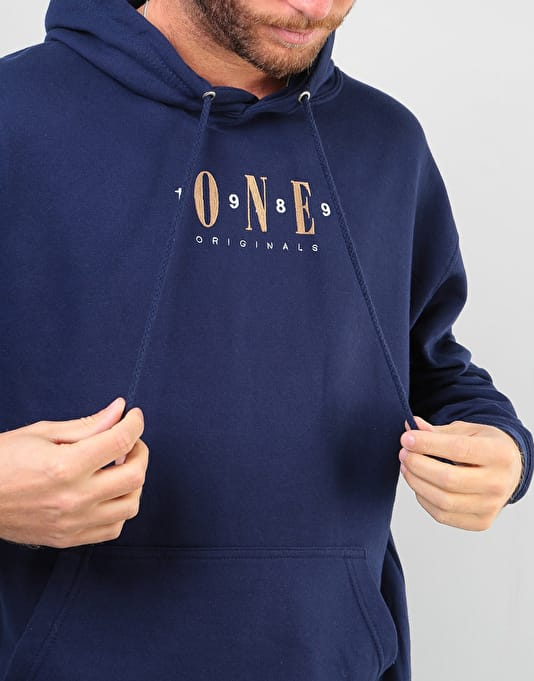 Route One Originals Pullover Hoodie - Navy