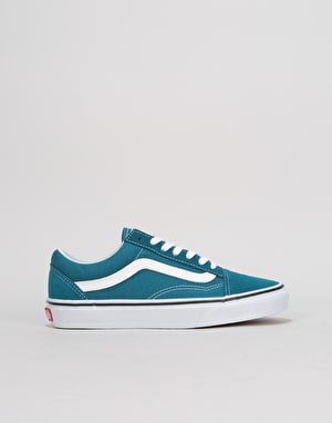 Vans Old Skool Womens Trainers - Corsair/True White