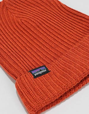 Patagonia Fisherman Rolled Beanie - Copper Ore