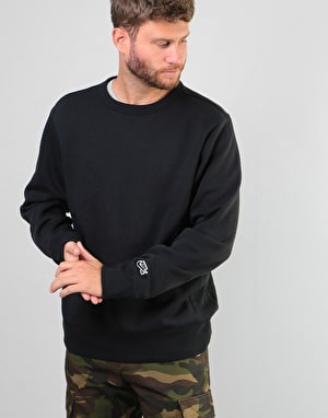 Nike SB Icon Essential Crew - Black/Black