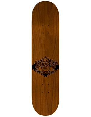 Krooked Worrest Personality Krisis Skateboard Deck - 8.38