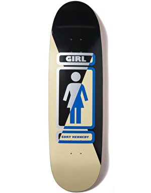 Girl Kennedy 93 Til 'Phawt' Skateboard Deck - 9.125