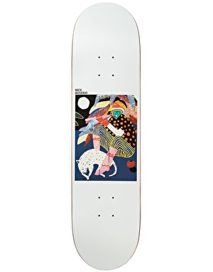 Polar Boserio Midnight Jam Skateboard Deck - 9