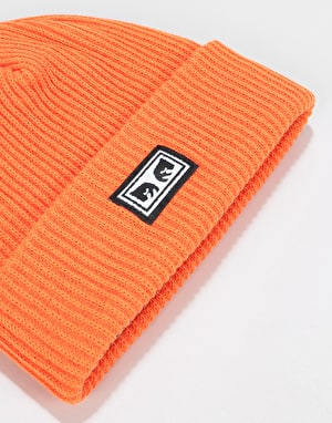 Obey Subversion Beanie - Orange