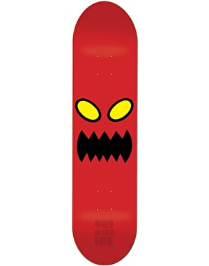 Toy Machine Monster Face  Skateboard Deck - 8.25
