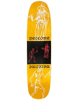 Welcome Rubberneck on Son of Moontrimmer Skateboard Deck - 8.25