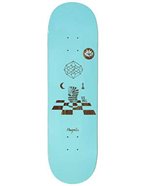 Magenta Valls Perceptions Skateboard Deck - 7.875