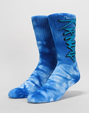 RIPNDIP Retro Socks - Blue Tie Dye