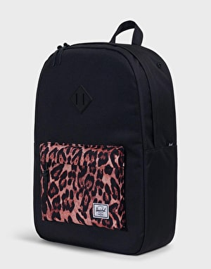 Herschel Supply Co. Heritage Backpack - Black/Desert Cheetah