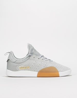 Adidas 3ST.003 Skate Shoes - Clear Onix/Grey/White