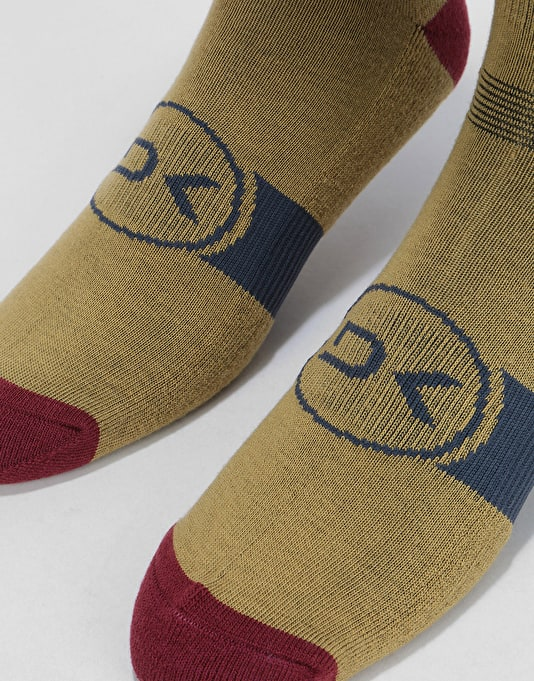Dakine Freeride Snowboard Socks - India Ink Team
