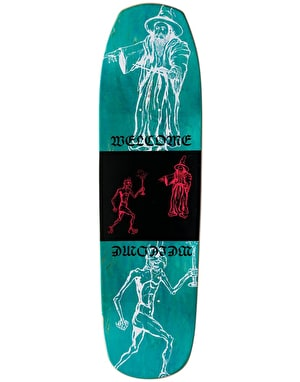 Welcome Maned Woof on Banshee 90 Skateboard Deck - 9