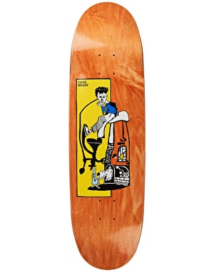 Polar Brady Pizza Oven Skateboard Deck - FOOTBALL Shape 8.75