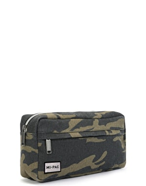 Mi-Pac Street Pac Cross Body Bag - Canvas Camo Khaki