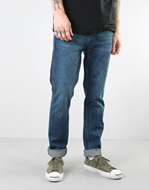 Route One Premium Slim Denim Jeans - Dark Wash