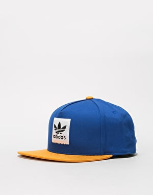 Adidas 2-Tone Snapback Cap - Collegiate Royal/Tactile Yellow