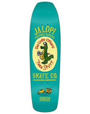 Jalopi Skate Co. (Anti hero) Grosso Skateboard Deck - 9.25