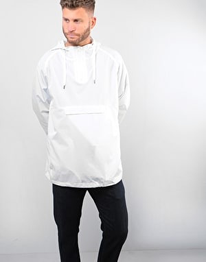 Route One Pullover Windbreaker - White
