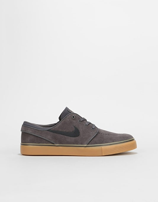 Nike SB Zoom Stefan Janoski Womens Trainers - Grey/Black-Gum Brown