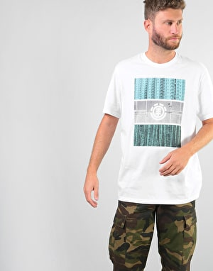 Element Parallel T-Shirt - Optic White