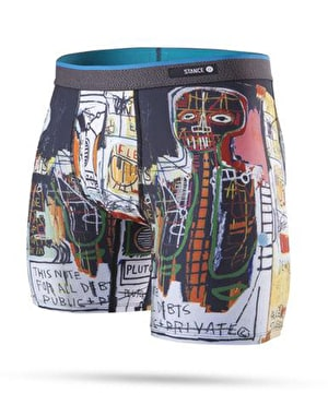 Stance x Jean-Michel Basquiat Poly Blend Boxer Shorts - Multi