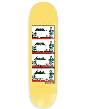 Pass Port Step By Step - Pool Skateboard Deck - 8.25
