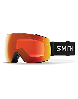 Smith I/O Mag 2019 Snowboard Goggles - Black/Sun Red Mirror