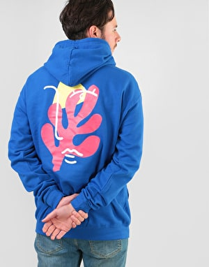Route One Abstract Hoodie - Royal Blue