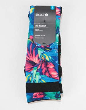 Stance Pau Snow All Mountain Snowboard Socks - Blue