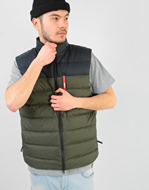Nike SB Packable Down Vest - Black/Sequoia/Black