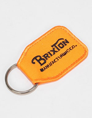 Brixton Tribute Key Chain - Orange